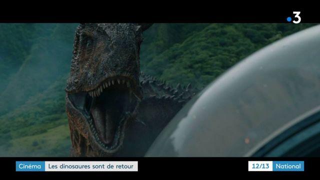 """""""Jurassic World 2"""" : les dinosaures font face à une éruption volcanique"""