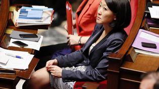 Fleur Pellerin, ministre déléguée à l'Economie numérique, le 22 mai 2013 à l'Assemblée à Paris. (PATRICK KOVARIK / AFP)