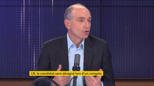 Jean-François Copé, le 27 septembre sur franceinfo. (FRANCEINFO / RADIO FRANCE)