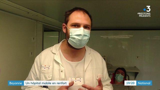 Coronavirus : un hôpital mobile pour désengorger les urgences à Bayonne