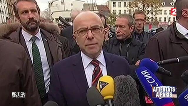 """Assaut à Saint-Denis : Bernard Cazeneuve salue """"le sang froid des habitants"""""""