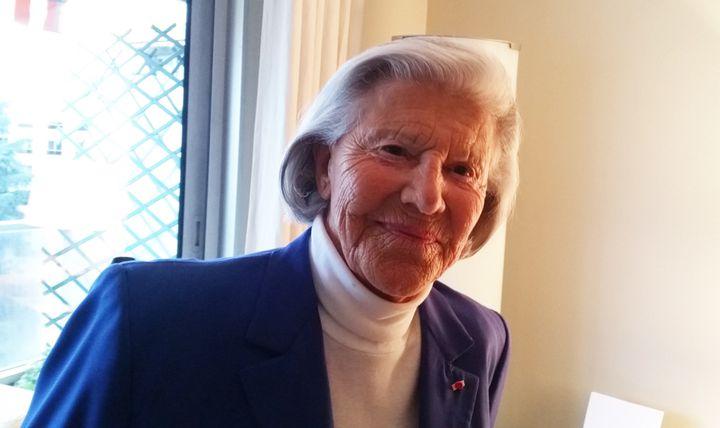 Monique Pelletier, ministre de 1978 à 1981. (BENOÎT COLLOMBAT / RADIO FRANCE)