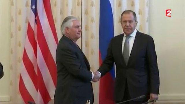 États-Unis / Russie : rencontre tendue à Moscou sur fond de dossier syrien