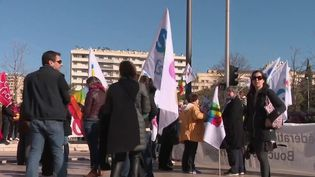 Réforme des retraites : une mobilisation en baisse à Marseille (FRANCE 2)