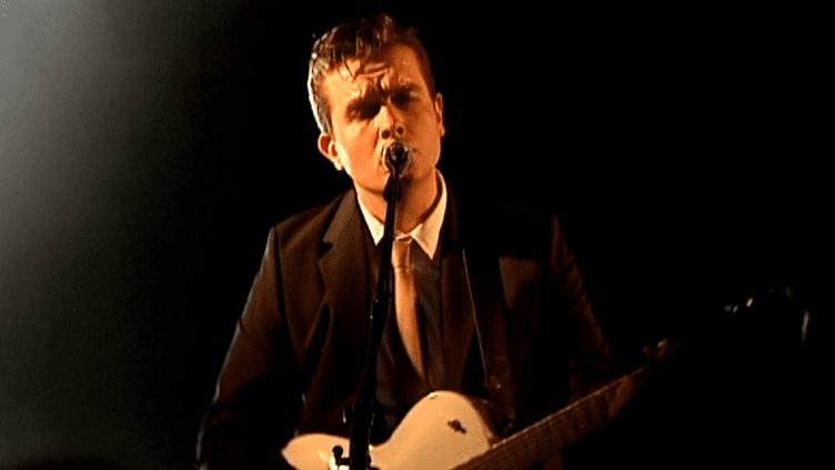 Jean Felzine, chanteur de Mustang à la Coopé de Mai, Clermont-Ferrand  (Culturebox)