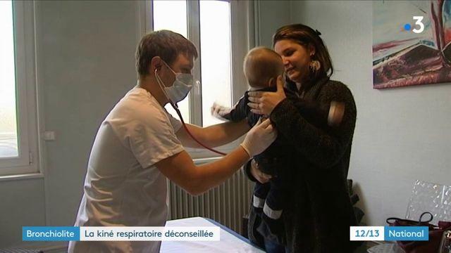Santé : la kiné respiratoire à présent déconseillée aux enfants de moins d'un an