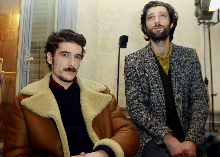 AMI pap masculin automne-hiver 2012-2013, à Paris  ( Jacques Brinon/AP/SIPA)