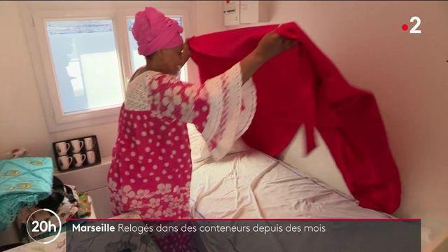 Mal-logement : à Marseille, 60 personnes vivent dans des conteneurs insalubres