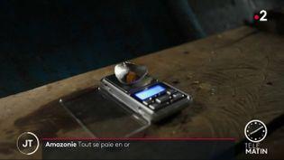 Dans la partie amazonienne du Venezuela, tout se paie en or. (France 2)