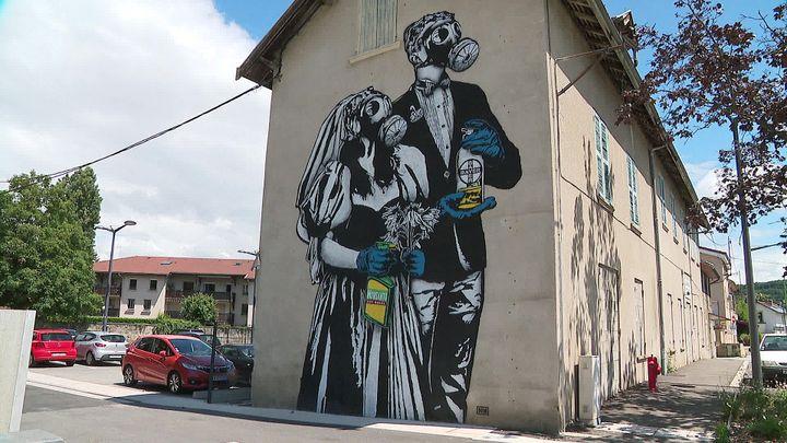 """Toxic wedding"", par GOIN - Pont de Claix, 2018 (France 3 AURA)"