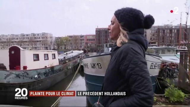 Plainte pour le climat : le précédent hollandais