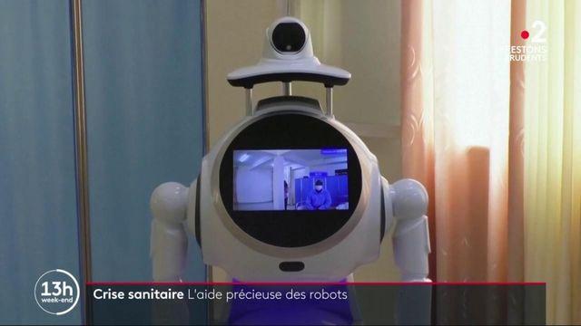 Crise sanitaire : des robots viennent en aide aux soignants