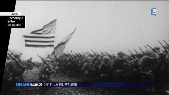 1917 la rupture : l'Amérique entre en guerre