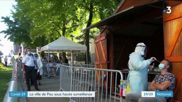 Covid-19 : la ville de Pau sous haute surveillance