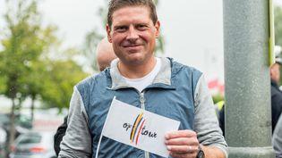 L'ancien cycliste allemand Jan Ullrich, en juillet 2017 àKorschenbroich (Allemagne). (GUIDO KIRCHNER / DPA)