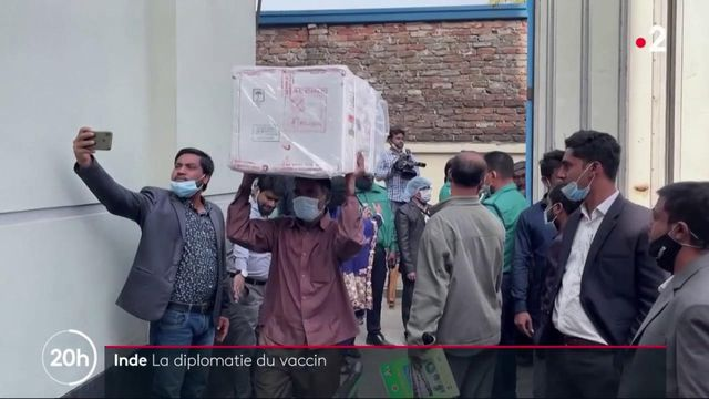 Inde : les vaccins contre Covid-19, un cadeau diplomatique aux pays voisins