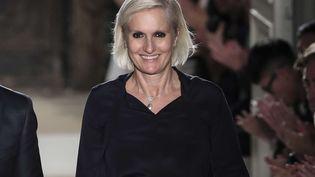 Maria Grazia Chiuri présentera son premier défilé pour Dior, pendant la fashion week de Paris 2016. (KAMIL ZIHNIOGLU/AP/SIPA / AP)