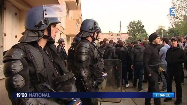 Nouvelle manifestation tendue à Ajaccio