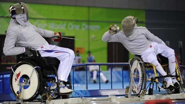 Laurent François (à gauche) (PETER PARKS / AFP)
