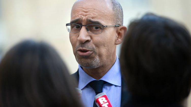 Harlem Désir, premier secrétaire du PS, à Paris, le 26 novembre 2012. (BERTRAND LANGLOIS / AFP)