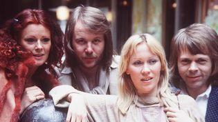 Le groupe suédois ABBA dans les années 70.  ( Slane / Guner Erhan /SIPA)