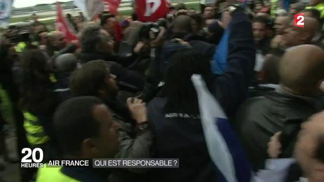 Air France : qui sont les responsables ?