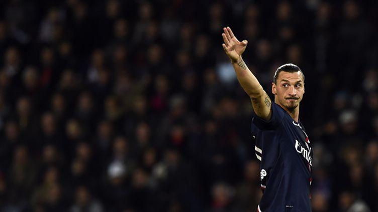 Zlatan Ibrahimovic de retour avec le PSG (FRANCK FIFE / AFP)