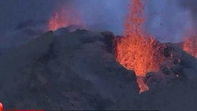 La Réunion : le Piton de la Fournaise s'est de nouveau réveillé