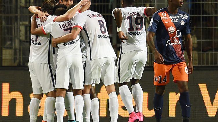 Le groupe parisien se félicite (PASCAL GUYOT / AFP)
