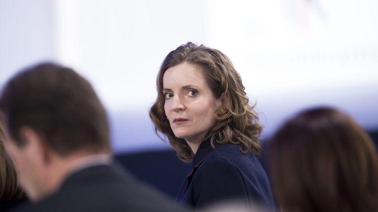 NathalieKosciusko-Morizet, présidente du groupe Les Républicains au Conseilde Paris, assiste au Conseil national des Républicains, le 13 février 2016 à Paris. (MAXPPP)
