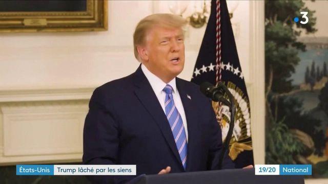 Etats-Unis : volte face de Donald Trump après la prise du Capitole par ses partisans