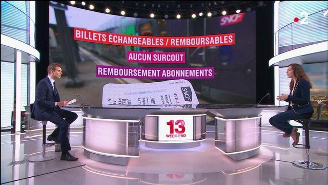 SNCF : assouplissement du remboursement et de l'échange des réservations durant la grève