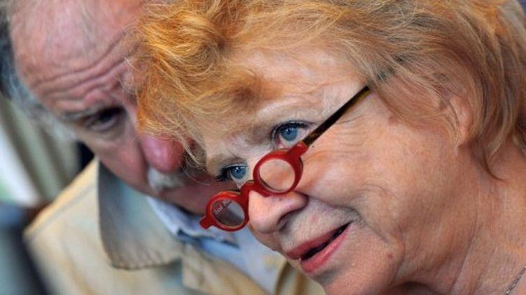 Eva Joly, avec Noël Mamère (PIERRE ANDRIEU / AFP)