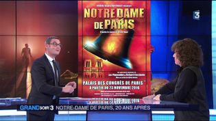 L'affiche de la comédie musicale Notre-Dame de Paris (France 3)
