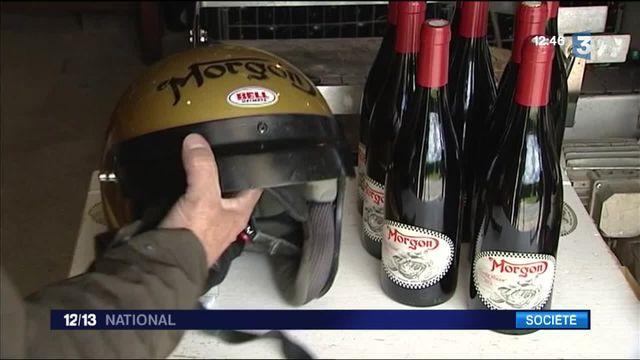 Beaujolais : quand moto et viticulture font bon ménage