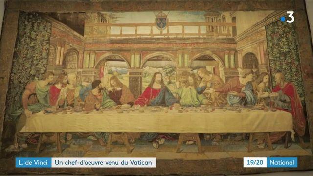 Léonard de Vinci : une tapisserie exceptionnelle exposée au Clos Lucé
