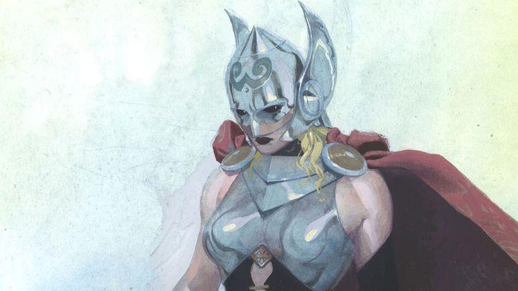 La nouvelle Thor, déesse du tonnerre, imaginé par Marvel Comics  (Marvel Comics / AFP)