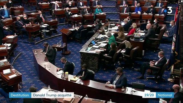 États-Unis : Donald Trump acquitté par le Sénat au terme de son procès en destitution
