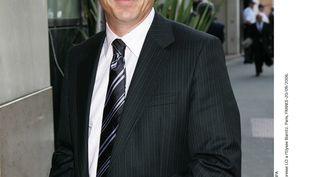 Le présentateur de LCI Philippe Ballard, ici le 20 septembre 2006 à Paris pour une conférence de presse de la chaîne. (LYDIE / SIPA)