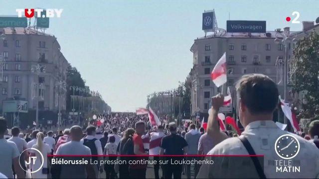 Biélorussie : le mouvement de contestation ne faiblit pas