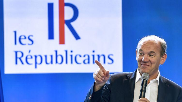 Daniel Fasquelle lors d'un meeting du parti Les Républicains au Touquet (Pas-de-Calais), le 27 août 2017. (PHILIPPE HUGUEN / AFP)