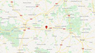 Mareuil-sur-Cher, dans le Loir-et-Cher. (GOOGLE MAPS)