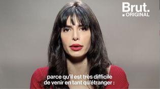 VIDEO. Mannequin en Iran, sans-abri en France, Negzzia raconte son histoire (BRUT)