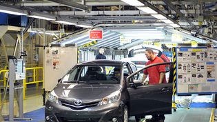 Toyota a annoncé, le 22 juin 2012, que l'usine de Valenciennes (Nord) produira des Yaris destinées à l'exportation vers l'Amérique du nordà partir de mai 2013. (MAX ROSEREAU / MAXPPP)
