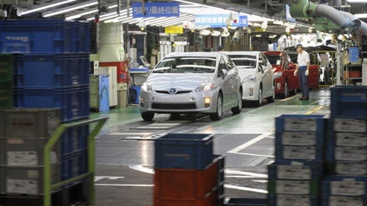 Usine Toyota, symbole de la puissance exportatrice du Japon (AFP/TOSHIFUMI KITAMURA)