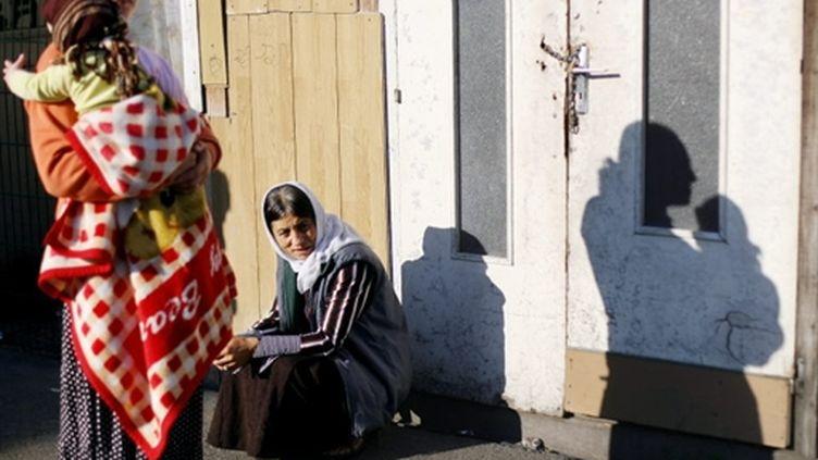 Femmes roms (AFP - THOMAS COEX)