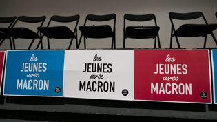 Rencontre des Jeunes avec Macron, le 21 octobre 2017 à Paris. (MAXPPP)