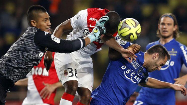 Monaco a bousculé Bastia (VALERY HACHE / AFP)
