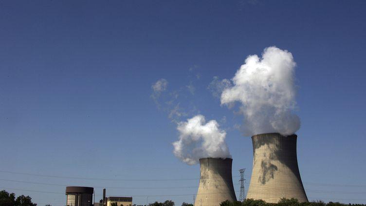 La centrale nucléaire de Byron, dans l'Illinois (Etats-Unis), le 12 mai 2007. (JEFF HAYNES / AFP)