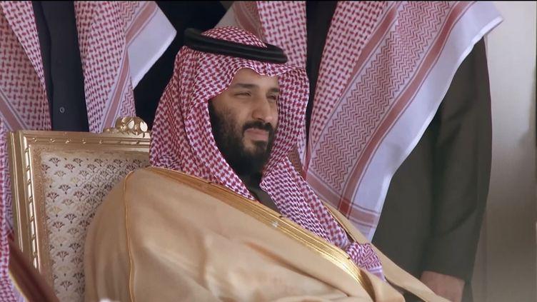"""Photo du prince héritier Mohammed Ben Salmane, dans le documentaire réalisé par Antoine Vitkine """"MBS, prince d'Arabie"""". (NILAYA PRODUCTIONS)"""
